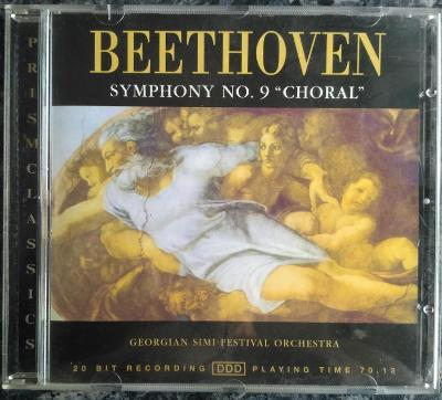 """CD Beethoven, Georgian SIMI Festival Orch. - Symphony No 9 """"Choral"""""""