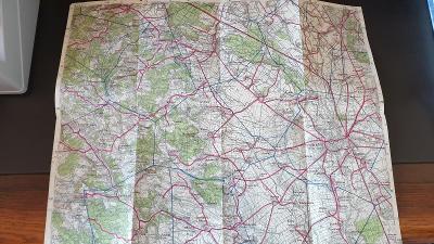 Protektorátní mapa 1939/1945-Olomouc-Šternberg-Litovel-Loštice-Konice
