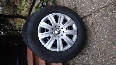 VW Tiguan - disky 16 palců s pneu Continental Winter Contact