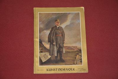časopis - Kunst Dem Volk 7/1940 3.říše