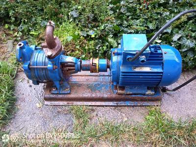 Motor s čerpadlem k domácí vodárně