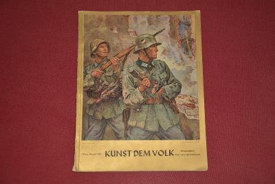 časopis - Kunst Dem Volk 8/1940 3.říše