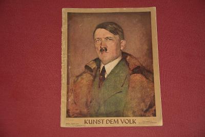 časopis - Kunst Dem Volk 4/1942 3.říše