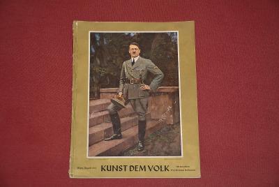 časopis - Kunst Dem Volk 8/1941 3.říše