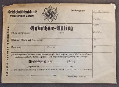 TISKOPIS  Z LET 1938-1945