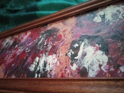 """Obraz """"Abstraktní květy"""""""