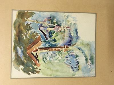 Sbírka Akvarelů - Alois Bátrla.