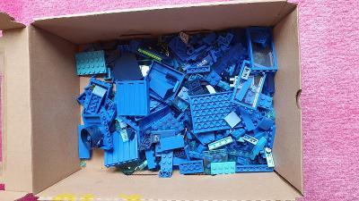 LEGO díly modré - 0,5 kg