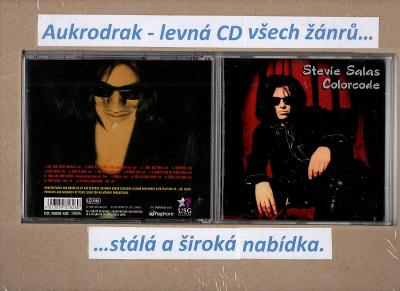 CD/Stevie Salas Colorcode-Back From The Living