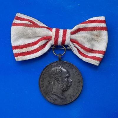 František Josef I.-Návštěva Prahy 1891-nápis Král Český vzácná medaile