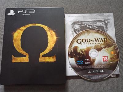 PS3 God of War Ascension Steelbook