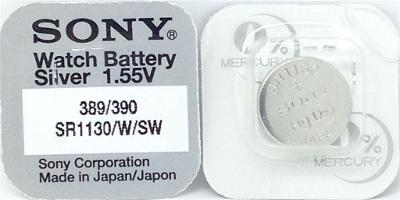 baterie do hodinek Sony SR 1130 389/390 (LR 1130), nová
