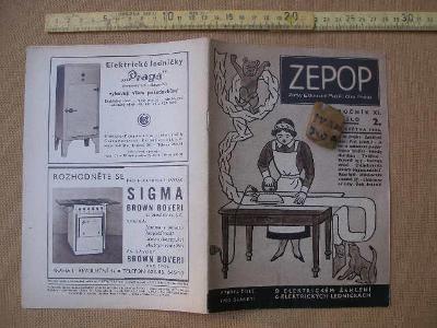 ZEPOP. Číslo 2  ze dne 9. Května 1936.