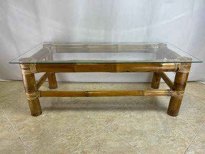 TOP-Luxusní konferenční stůl- Pravý bambus