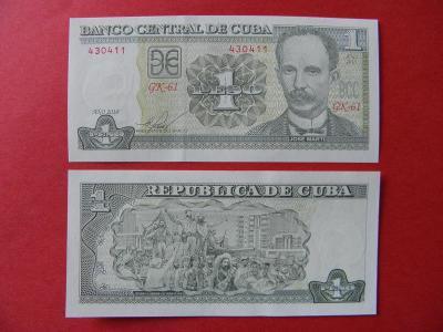 1 Peso 2010 Cuba - P121 - UNC - /H135/