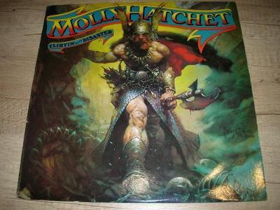 Molly Hatchet – Flirtin' With Disaster (1979)  1.Press UK , EX+