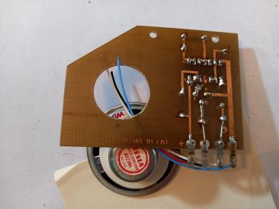 Stary komponent, reproduktor Tesla, Made in Czechoslovakia