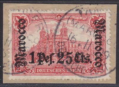 Deutsche Auslandpostämter MAROKO MiNr 43o
