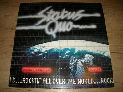 Status Quo –Rockin' All Over The World (1977) 1.Press , EX