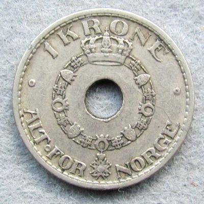 Norsko 1 krona 1950