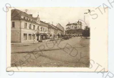 Přeštice Plzeň- jih náměstí obchody