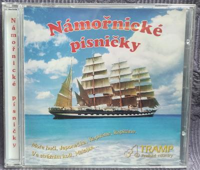 CD - Námořnické písničky  (2000) , CD V PĚKNÉM STAVU
