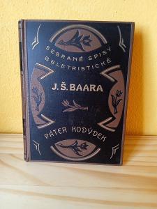 Sebrané spisy beletristické- J.Š.Baar