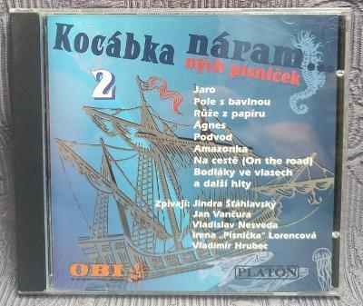 CD - Kocábka náramných písniček II.  , CD V PĚKNÉM STAVU