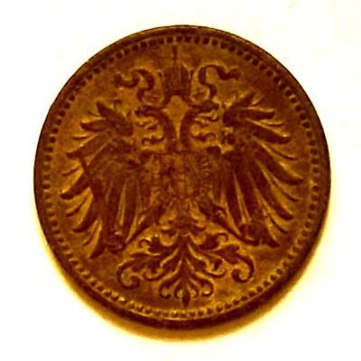 Rakousko-Uhersko 1914 Začátek 1.Světové Války 1 Heller (Halíř)upomínka