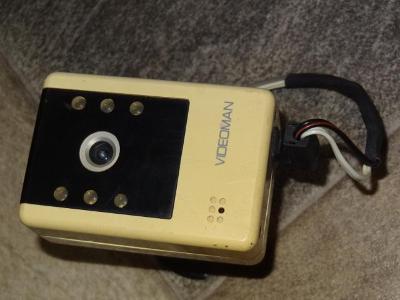 CCTV bezpecnostni TV kamera VIDEOMAN  mozno vyuzit jako maketa kamery
