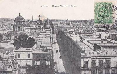MEXICO - MEXICO CITY - PANORAMA - 13-EX67
