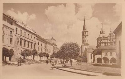 SLOVENSKO - LEVOČA - STALINOVO NÁMĚSTÍ  -30-SY66