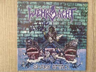CD-WEHRMACHT-Shark Attack/leg.hc-thrash US.,spec.edition,číslováno
