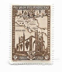 Známka Španělska** od koruny - strana 1