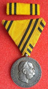 Rakousko - uhersko FJ1.: Mezinárodní jubilejní Ag pamětní medaile
