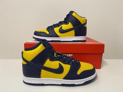 Nike Dunk High SP Michigan vel.42/26,5cm