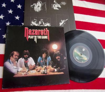 💥 LP: NAZARETH - PLAY 'N' THE GAME, deska jako nová NM, 1.press 1976