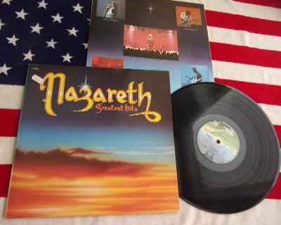 💥 LP: NAZARETH - GREATEST HITS, deska jako nová NM, 1press France1975