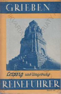 Grieben Reiseführer Leipzig Průvodce v nj 1938