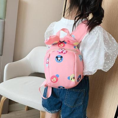 Dětský batoh s oušky a vodítkem  DB01