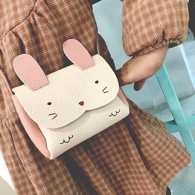 Dívčí kabelka ve tvaru králíčka v různých barvách DK02