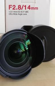 Samyang 14mm F2.8 ED AS IF UMC pro NIKON