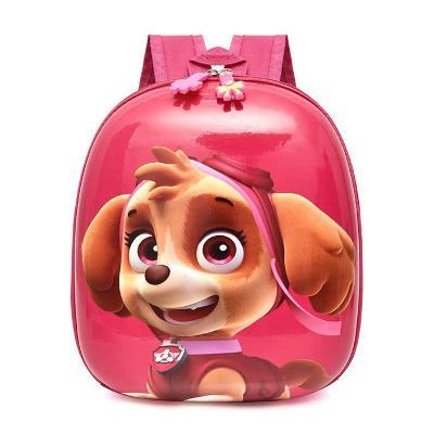 Dětský skořepinový batoh Tlapková patrola DSB01