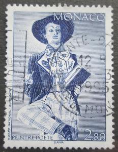Monako 1994 Básník Mi# 2162 0626