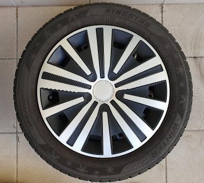 Zimní pneu 185/60 R15 + plechové disky