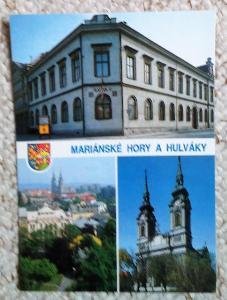Ostrava - Mariánské Hory a Hulváky (Ostrava) znak