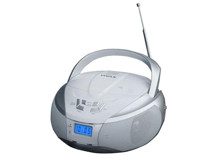 Vivax VOX Přenosné rádio APM-1032 Silver - TV, audio, video