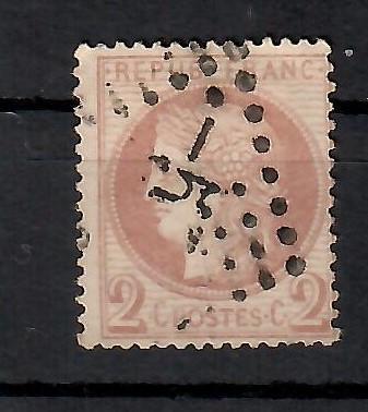 517 - Francie 1870, Mi 37a, eur 250
