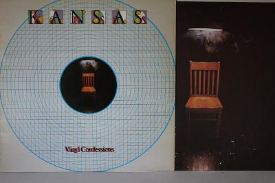 Kansas – Vinyl Confessions LP 1982 vinyl NL 1.press Classic Rock EX