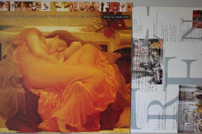 Malcolm McLaren Waltz Darling LP 1989 vinyl Jeff Beck Sex Pistols NM